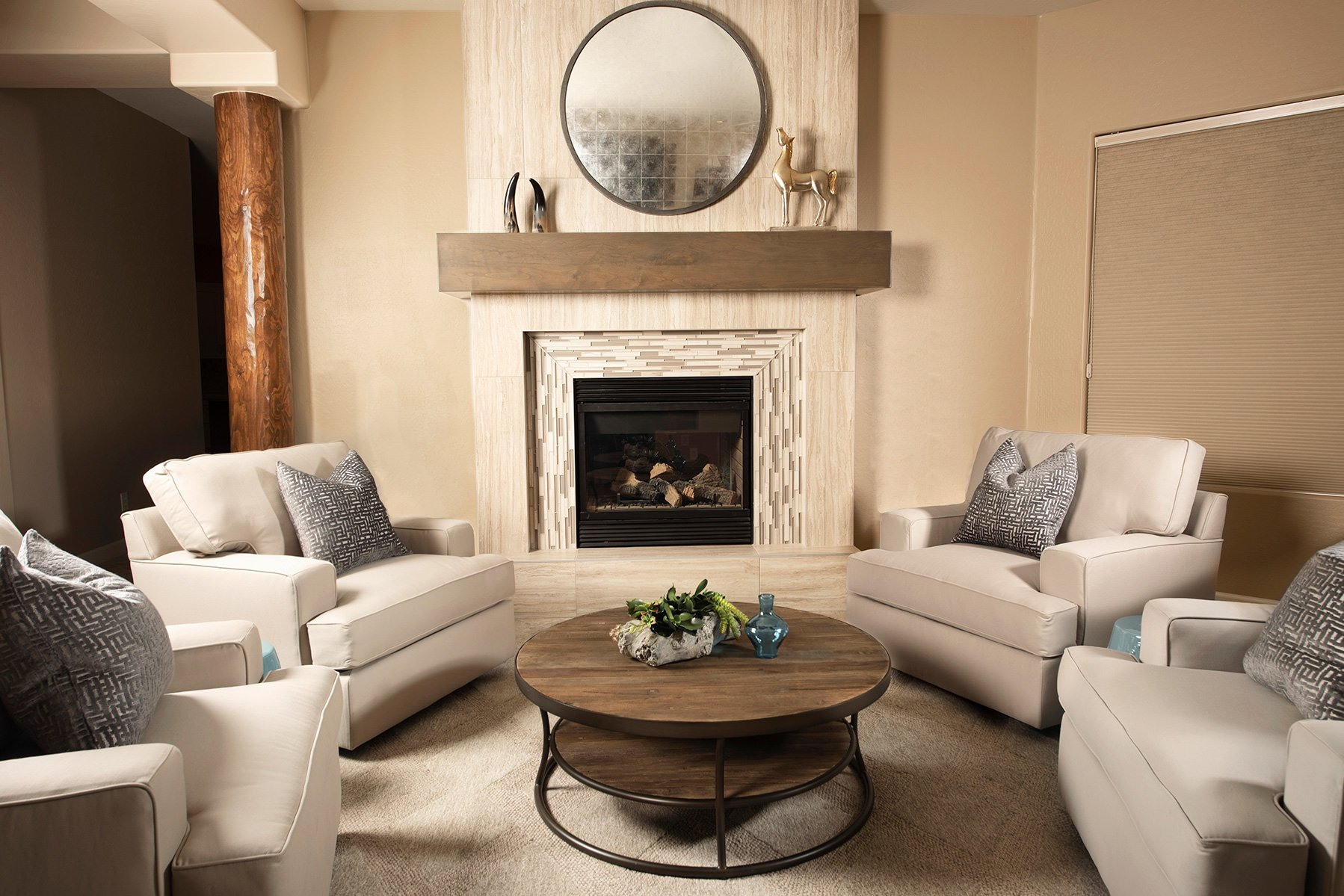 Living Room Remodel Scottsdale Arizona Interior Design